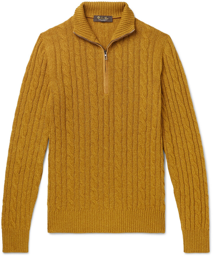 Mens Mustard Yellow Sweater Shop The World S Largest Collection Of Fashion Shopstyle