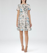 Reiss Mella Printed Dress