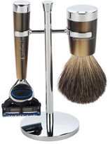 Gentleman London NEW Davies Horn Razor & Shaving Brush Stand