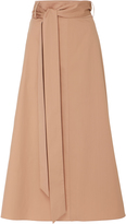 Tibi Cotton Midi Skirt