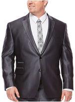 Jf J.Ferrar JF Gray Luster Suit Jacket - Big & Tall