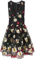 Alice + Olivia Alice+Olivia - floral embroidered dress - women - Polyester/Spandex/Elastane - 0