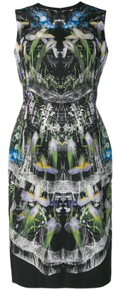 Alexander McQueen Hologram Print Dress