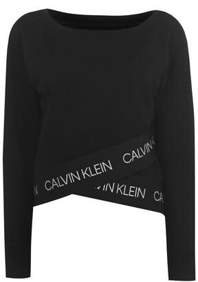 Calvin Klein Boatneck Pullover Sweatshirt