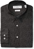Nick Graham Everywhere Men's Alternating Neat Print Stretch Dress Shirt