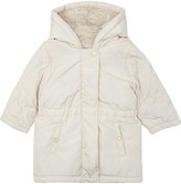 Chloé Faux-fur lined quilted puffa coat 6-36 months