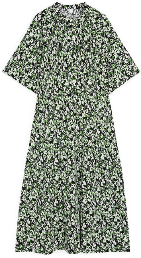 Arket Fluted Jersey Dress