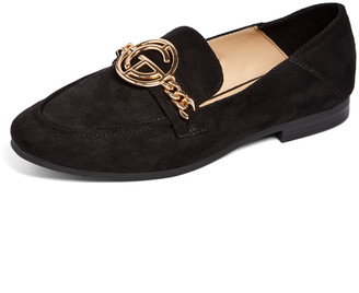 Tahari Girl Women's Loafers BLACK - Black Zeva Loafer - Women