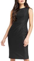 Oasis Hannah Workwear Dress, Black