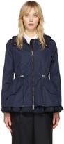 Moncler Navy Lotus Hooded Jacket