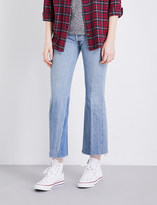 RE/DONE Leandra flared high-rise jeans