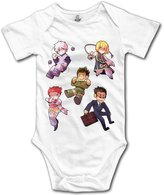 Small Rivers Anime Characters Hunter X Hunter Design Baby Onesie T Shirt Baby