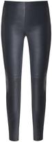 Veronica Beard Palladium Leather Legging