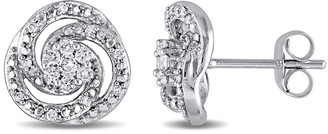 Rina Limor Fine Jewelry 10K Gold 0.252 Ct. Tw. Diamond Stud Earrings