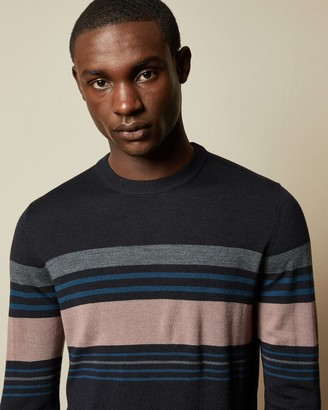 Ted Baker SWIFTIE Striped crew neck jumper