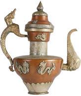 One Kings Lane Vintage Asian Silver & Copper Teapot