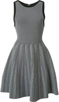Alice + Olivia Alice+Olivia - checked dress - women - Nylon/Viscose - M