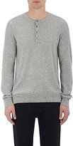 Vince MEN'S HENLEY SWEATER