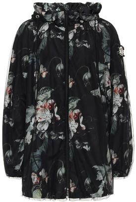 MONCLER GENIUS 4 MONCLER SIMONE ROCHA floral down jacket