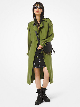 MICHAEL Michael Kors MK Draped Trench Coat - Dune - Michael Kors