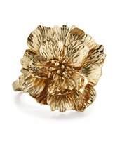 Oscar de la Renta Bold 3D Flower Bracelet
