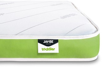 Jay-Be Toddler Anti-allergy Foam Free Sprung Mattress -2ft 3