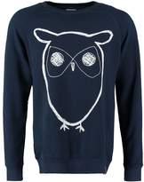 Knowledge Cotton Apparel Sweatshirt Navy