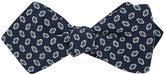 Drakes Drake's Men's Geometric-Pattern Silk Bow Tie