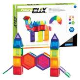 Guidecraft 94-Piece PowerClix® Solids Set