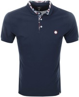 Pretty Green Beaufort Carver Polo T Shirt Navy