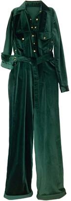 Leim Toilet Friendly Boilersuit Emerald Velvet