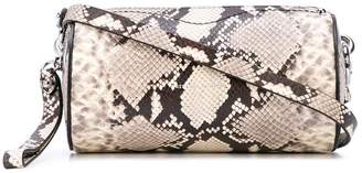 Rebecca Minkoff snake print crossbody bag