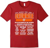 River Island Funny Drum Lover Quote Gift, You Are A Drummer T-Shirt