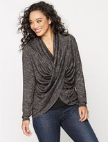 A Pea in the Pod Long Pull Over Cross Front Nursing Top