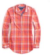Tommy Hilfiger Plaid Popover Shirt
