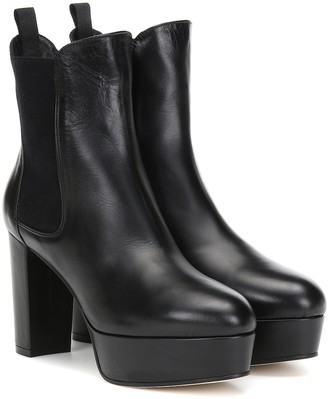 Stuart Weitzman Sophina leather ankle boots