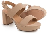 Bamboo Camille Heeled Sandals - Vegan Leather (For Women)