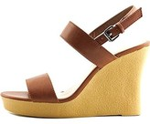 Athena Alexander Womens Beryl Open Toe Casual Wedged Sandals.