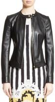 Versace Women's Leather Jacket