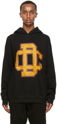 DSQUARED2 Black DC Crest Hoodie