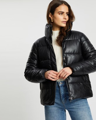 Unreal Fur Women's Black Parkas - Major Tom Puffer Jacket - Size One Size, S at The Iconic