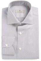 Canali Regular Fit Print Dress Shirt