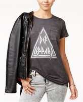 Hybrid Juniors' Def Leppard Graphic T-Shirt