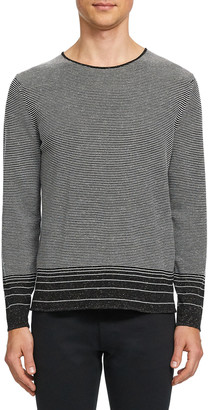 Theory Men's Guinard Degrade Stripe Sweater