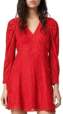 AllSaints Rosi Ani Embroidered Dress