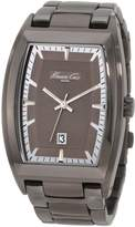 Kenneth Cole New York Men's KC3756 IP Classic Gunmetal Plating Collection Watch