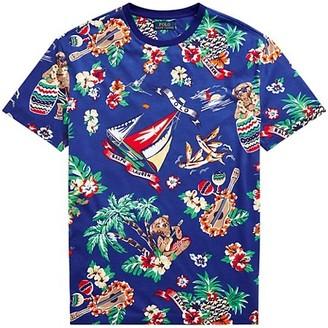 Polo Ralph Lauren Polo Bear Tropical Jersey Graphic T-Shirt