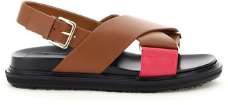 Marni Fussbett Bicolor Sandals