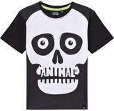Animal Black Teeny Skull Tee