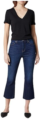 Jag Jeans Mia High-Rise Crop Boot Jeans (West Side Blue) Women's Jeans